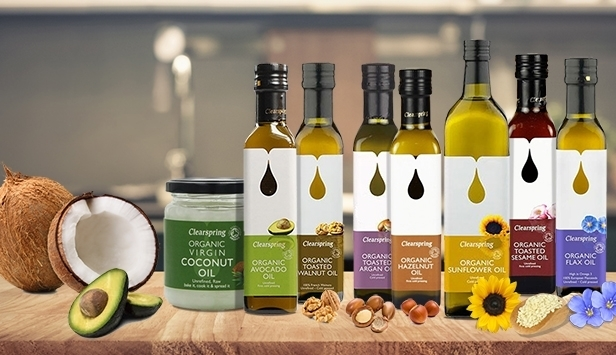 Organic Oils Cold-pressed