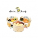Lemon & Strawberry Sorbet (500ml)