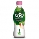 Young Coconut water with Green tea and Peach (330ml)