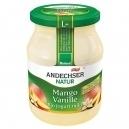 Yogurt mango/vanilla 3,7% (500gr)