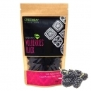 Raw Dried Black mulberries (125gr)
