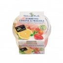Παγωτό Σορμπέ Λεμόνι & Φράουλα χωρίς ζάχαρη (125ml)