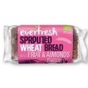 Sprouted wheat bread with fruit & almonds (400gr)