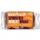 Sprouted wheat bread with carrot & raisins (400gr)