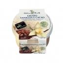 Παγωτό Βανίλια & Κακάο χωρίς ζάχαρη (125ml)