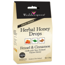 Herbal Honey Drops with Thyme Honey, Fennel & Cinnamon (120gr)