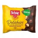 Τραγανές Μπαλίτσες Δημητριακών με επικάλυψη Σοκολάτας χωρίς γλουτένη (37γρ)