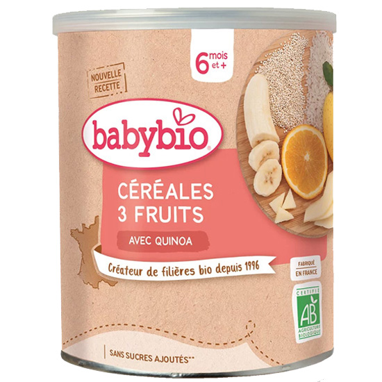 Fruit Cereal with Quinoa +6m (220gr)
