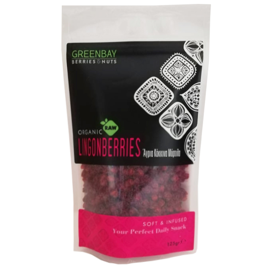 Raw Dried Wild Lingonberries (125g)