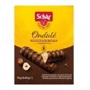 Μπάρα/Γκοφρέτα με γέμιση φουντούκι και επικάλυψη σοκολάτας
