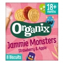 'Jammie Monsters' fruit filled biscuits +18m (64g)
