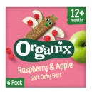 Apple & Raspberry Oaty Bars +12m (6x30gr)