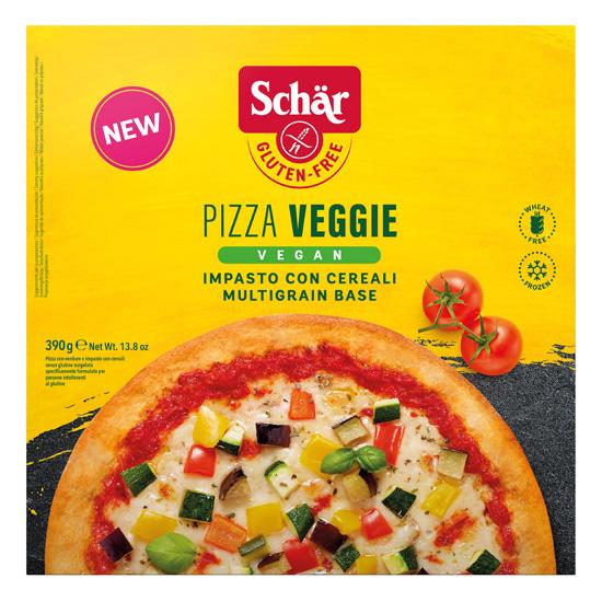 Vegan Πίτσα Λαχανικών Χωρίς Γλουτένη (390γρ)