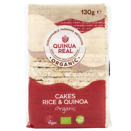 Ρυζογκοφρέτες Ολικής με Κινόα (130γρ)