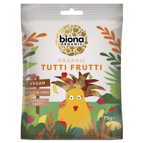 Ζελεδάκια Φρούτων Tutti Frutti (75γρ)