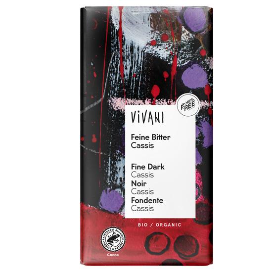 Μαύρη Σοκολάτα με Φραγκοστάφυλο (100γρ)